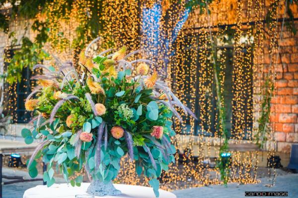 Ruin Flower Decorations