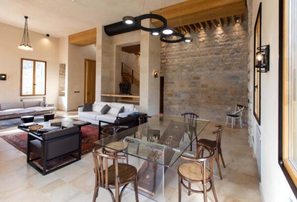 The Silk Valley - Villa living room1